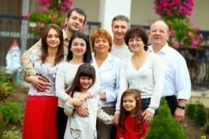 משפחה מורחבת בגירושין